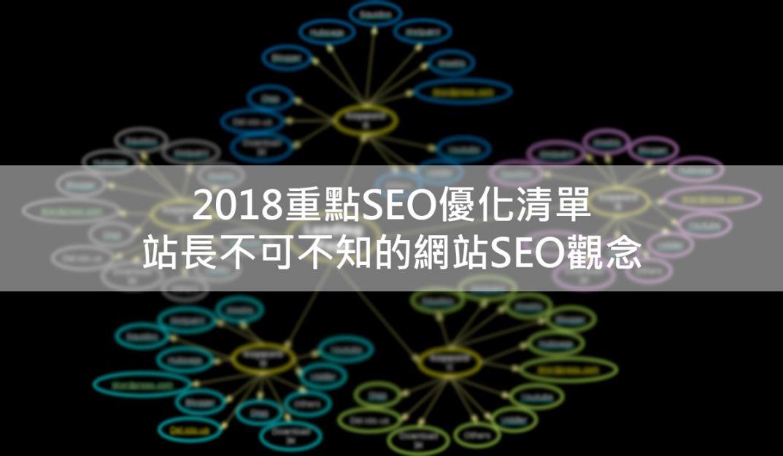 2018重點SEO優化清單