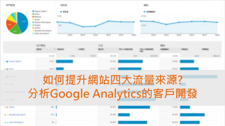 分析Google Analytics的客戶開發